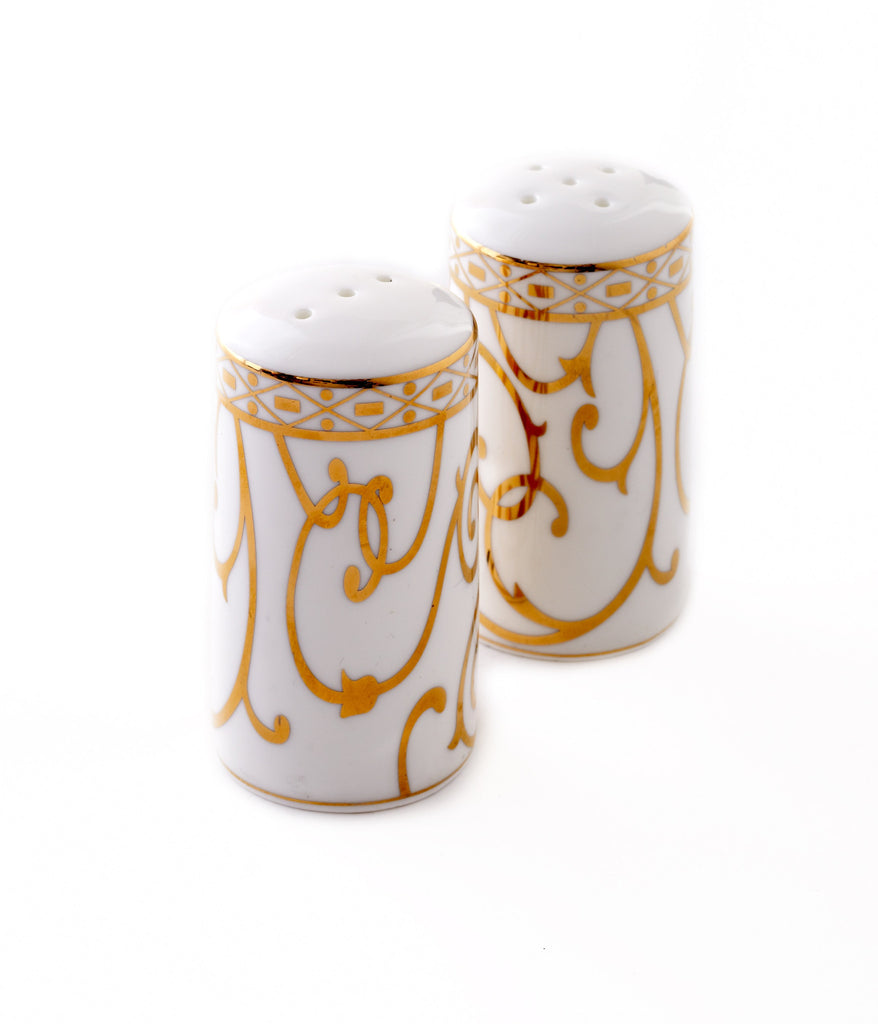 Salt & Pepper-Athena 24kt Gold Collection