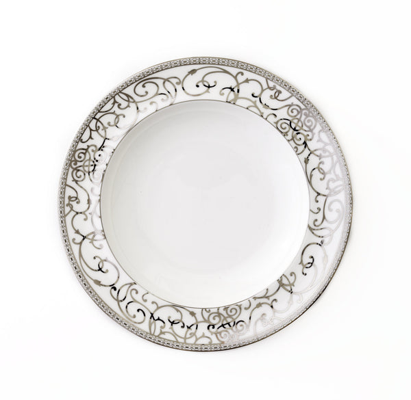 Round Platter-Athena Platinum Collection · CRU Dinnerware  sc 1 st  CRU Dinnerware : athena dinnerware collection - pezcame.com