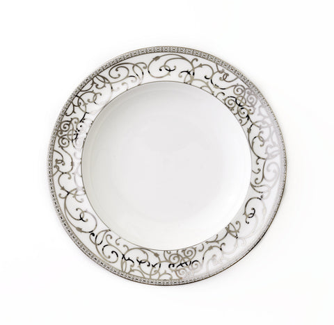 Round Platter-Athena Platinum Collection