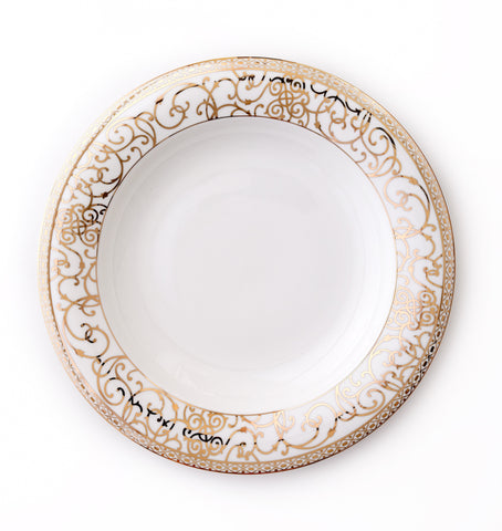 Rim Soup-Athena 24kt Gold Collection