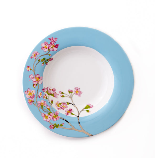 Round Platter-Madison's April in NY Collection