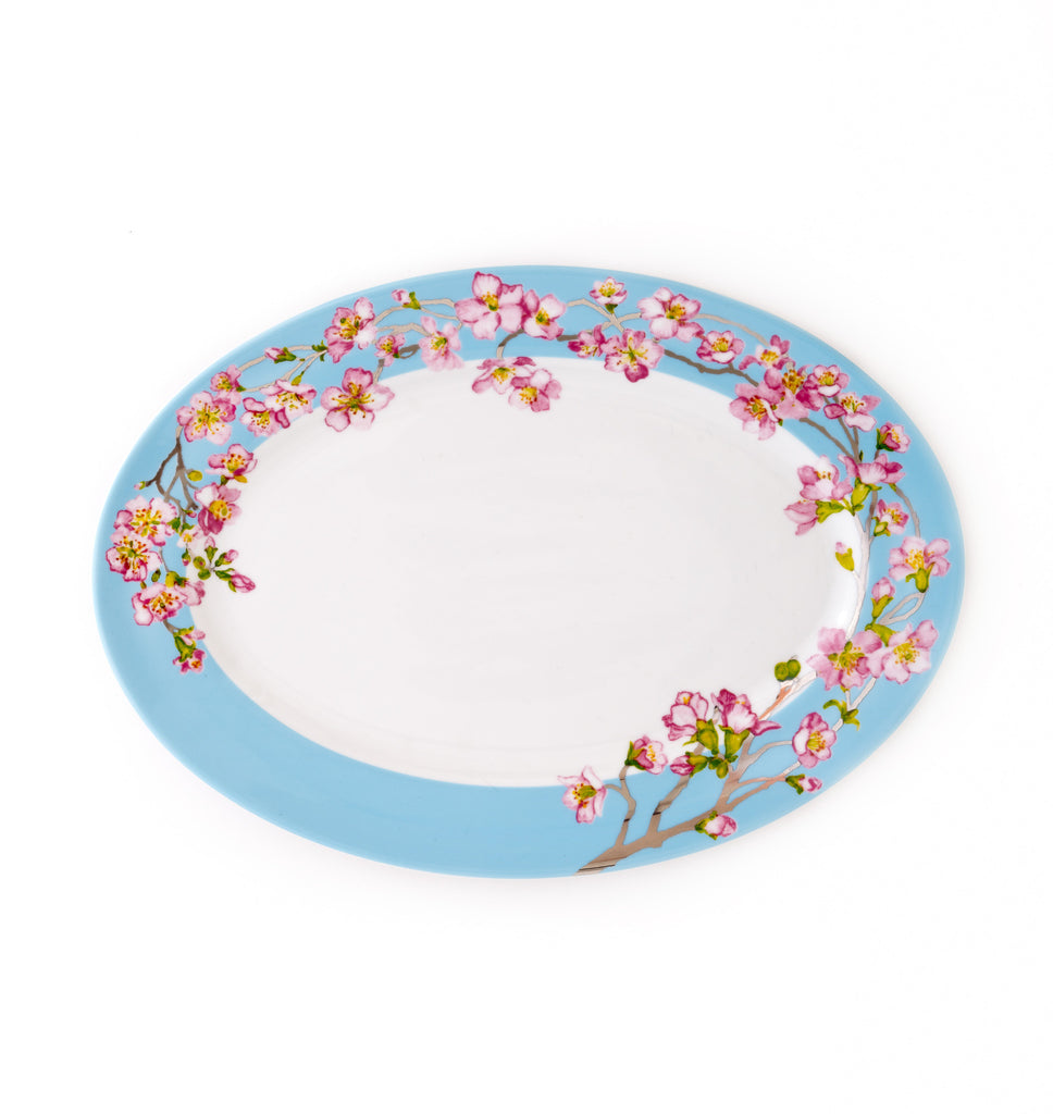 Oval Platter-Madison's April in NY Collection