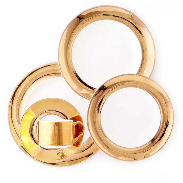 5 Piece-Monaco 24kt Gold Collection
