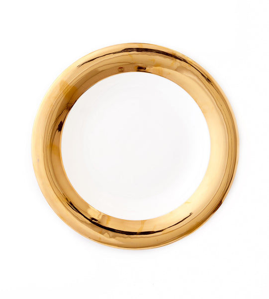 Round Platter - Monaco 24kt Gold Collection