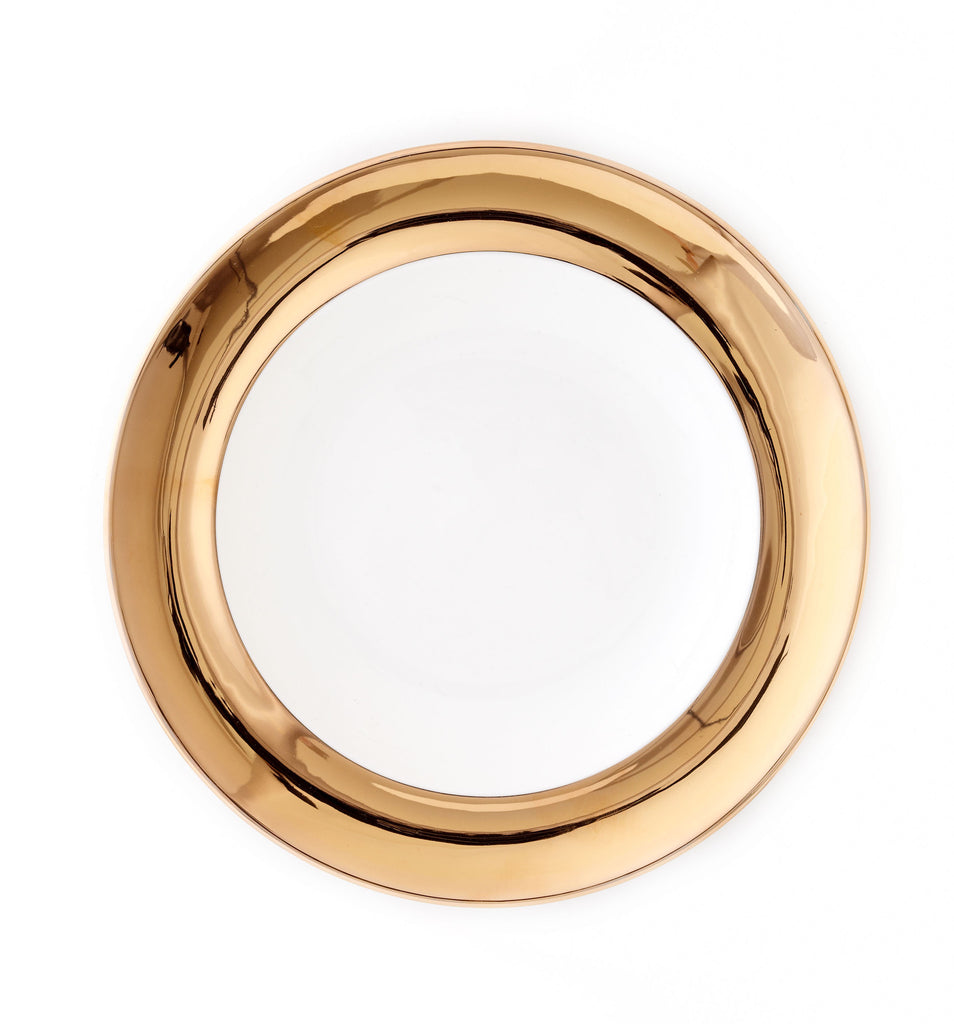Serving Bowl - Monaco 24kt Gold Collection