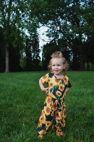 Baby Sunflower Jumpsuit