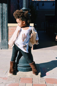 Black leggings {kids}