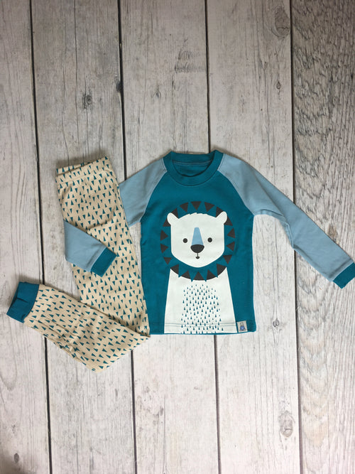 Blue Bear Kids Pajama Set
