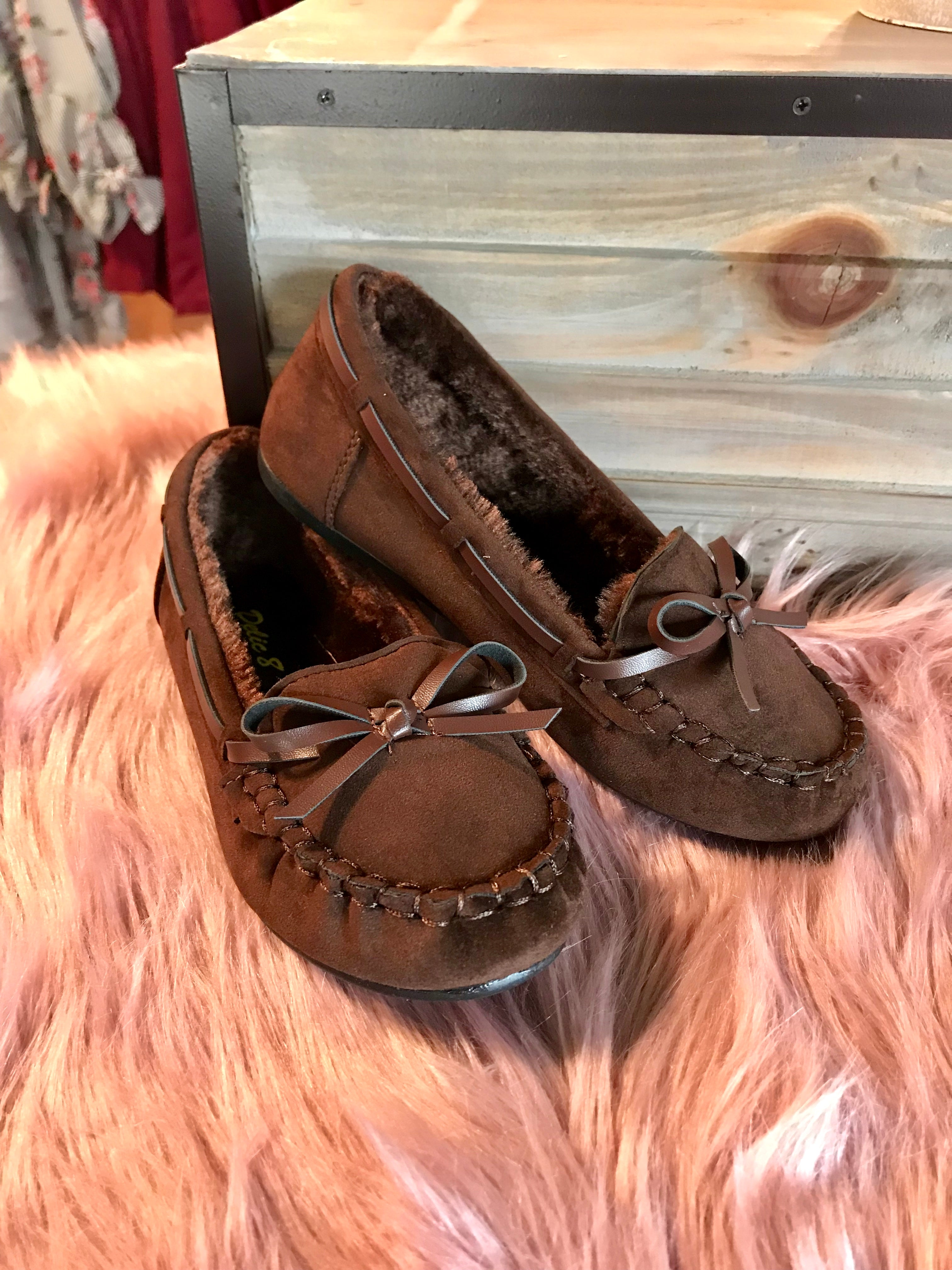 Girls' Brown Mocassin