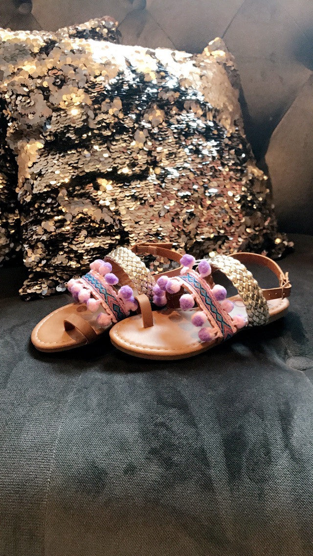 Girls Boho Sandal