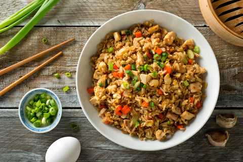 Lighten Up! Chicken and Vegetable Fried Rice