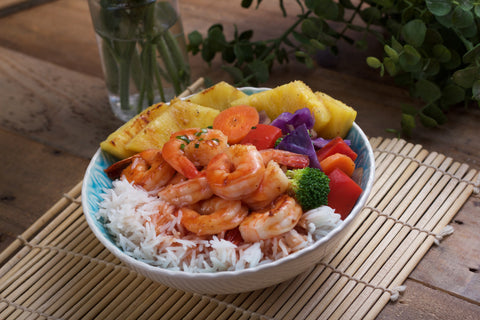 Chef's Pick- Sweet and Sour Shrimp Bowl