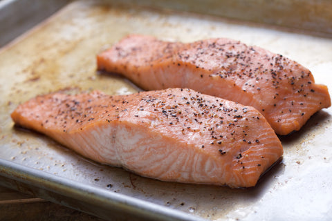 Flash Roasted Salmon