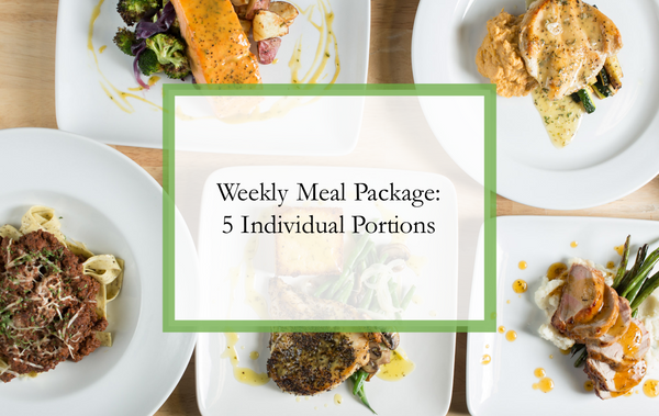 You Pick 5 - Weekly Meal Package