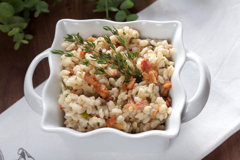 Bacon Barley Pilaf