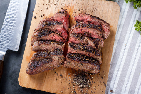 Peppercorn Flank Steak