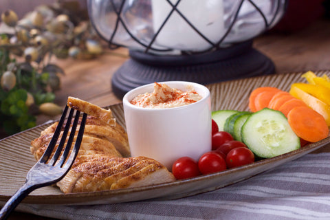 Chef's Pick- Hummus Plate with Roasted Chicken