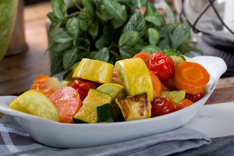 Hard Roasted Veggie Medley