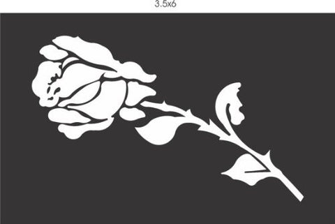 Rose Vinyl Decal Sticker Window Car Truck Van Suv - ezwalldecals vinyl decal - vinyl sticker - decals - stickers - wall decal - jdm decal - vinyl stickers - vinyl decals - 1