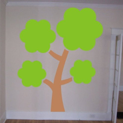 Huge Beautiful Tree Decal Sticker Wall Beautiful Nature Nice Baby Children - ezwalldecals  - vinyl decal - vinyl sticker - decals - stickers - wall decal - jdm decal - vinyl stickers - vinyl decals - 1