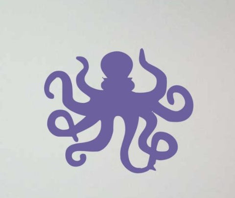 Octopus Decal Sticker Wall Ocean Kid Boy Girl Water Nursery Teen - ezwalldecals vinyl decal - vinyl sticker - decals - stickers - wall decal - jdm decal - vinyl stickers - vinyl decals - 1