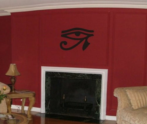 Large Eye of Horus Wall Decal Sticker Eye of the Moon the Eye of Ra Art Graphic - ezwalldecals  - vinyl decal - vinyl sticker - decals - stickers - wall decal - jdm decal - vinyl stickers - vinyl decals - 1