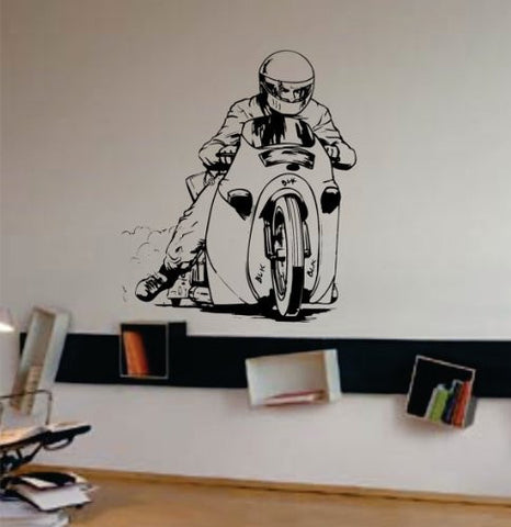 Dragster Bike Decal Sticker Wall Art Graphic Race - ezwalldecals vinyl decal - vinyl sticker - decals - stickers - wall decal - jdm decal - vinyl stickers - vinyl decals - 1