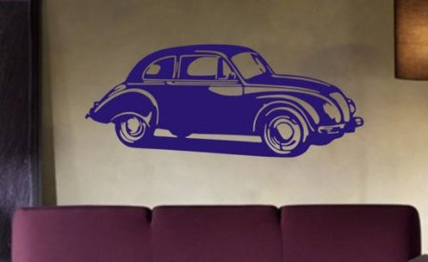Volkswagon Beatle Decal Sticker Wall Bug Car Nice Modern Guy Girl Child - ezwalldecals  - vinyl decal - vinyl sticker - decals - stickers - wall decal - jdm decal - vinyl stickers - vinyl decals - 1