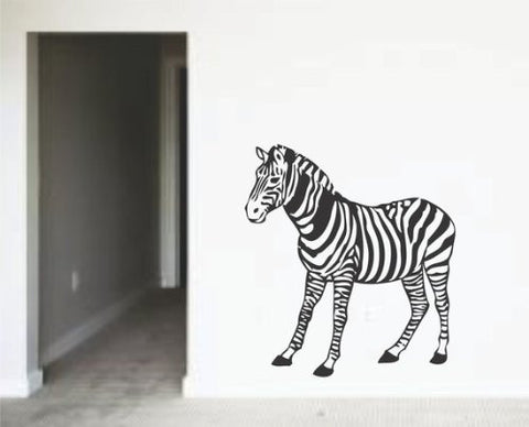 Zebra Decal Sticker Wall Animal Cool Nature Baby Children Boy Girl - ezwalldecals  - vinyl decal - vinyl sticker - decals - stickers - wall decal - jdm decal - vinyl stickers - vinyl decals - 1