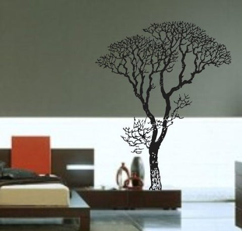 Big Bare Tree Vinyl Decal Sticker Forest Trees Nature Living Room Modern Nursery - ezwalldecals  - vinyl decal - vinyl sticker - decals - stickers - wall decal - jdm decal - vinyl stickers - vinyl decals - 1