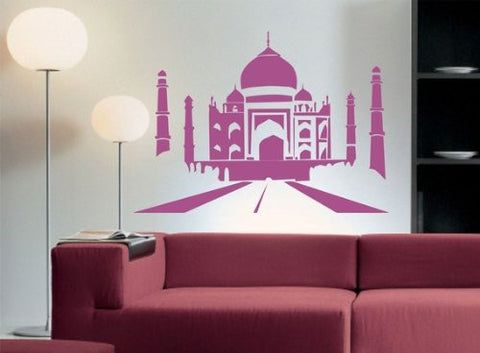 Taj Mahal Decal Sticker Wall Graphic Monument Building India Agra World Home - ezwalldecals  - vinyl decal - vinyl sticker - decals - stickers - wall decal - jdm decal - vinyl stickers - vinyl decals - 1