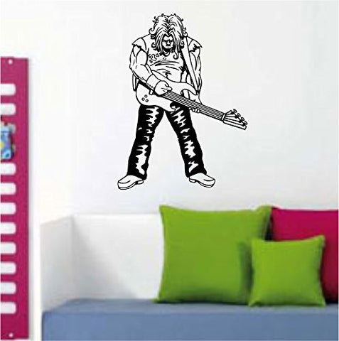 Rockstar with Guitar Wall Mural Decal Sticker Music - ezwalldecals vinyl decal - vinyl sticker - decals - stickers - wall decal - jdm decal - vinyl stickers - vinyl decals - 1