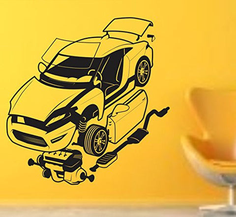 Auto Mechanic Version 103 Vinyl Wall Decal Sticker Car Window Truck Decals - ezwalldecals  - vinyl decal - vinyl sticker - decals - stickers - wall decal - jdm decal - vinyl stickers - vinyl decals - 1