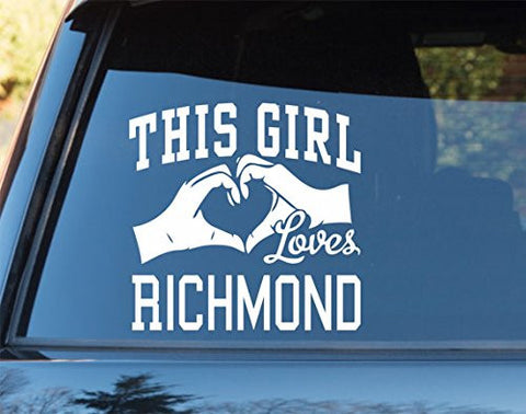 This Girl Loves Richmond Decal Sticker Car Window Truck Laptop - ezwalldecals vinyl decal - vinyl sticker - decals - stickers - wall decal - jdm decal - vinyl stickers - vinyl decals - 1