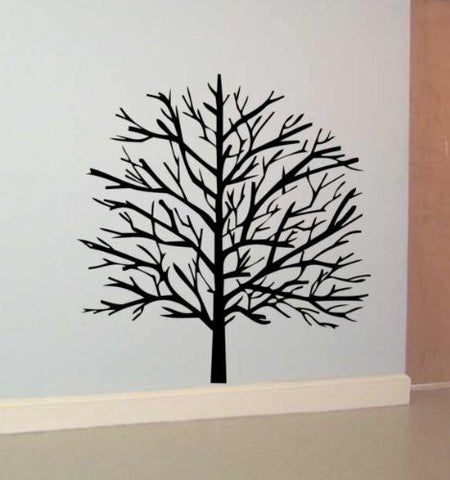 Tree Decal Sticker Wall Nature Branch Kid Child Boy Girl Nursery Room - ezwalldecals  - vinyl decal - vinyl sticker - decals - stickers - wall decal - jdm decal - vinyl stickers - vinyl decals - 1