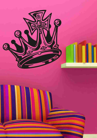 Crown Version 101 Vinyl Wall Decal Sticker Art Graphic Religous - ezwalldecals vinyl decal - vinyl sticker - decals - stickers - wall decal - jdm decal - vinyl stickers - vinyl decals - 1