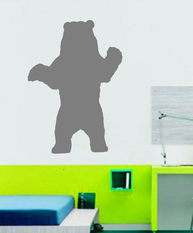 Bear - Grizzly - Vinyl Wall Decal - Wall Mural Decal Sticker - EMS 104 - ezwalldecals  - vinyl decal - vinyl sticker - decals - stickers - wall decal - jdm decal - vinyl stickers - vinyl decals - 1
