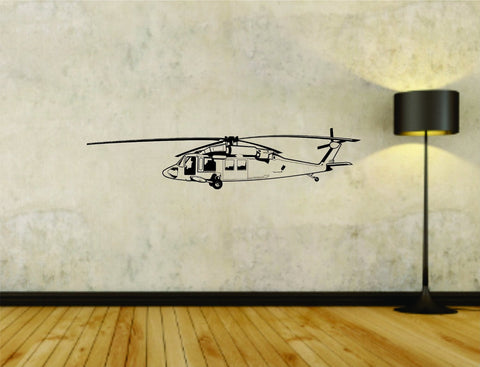 Military Helicopter Blackhawk Version 101 Fighter Uniform Vinyl Wall Decal Sticker - ezwalldecals  - vinyl decal - vinyl sticker - decals - stickers - wall decal - jdm decal - vinyl stickers - vinyl decals - 1