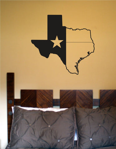 State of Texas Star Vinyl Wall Decal Sticker Decals Stickers - ezwalldecals  - vinyl decal - vinyl sticker - decals - stickers - wall decal - jdm decal - vinyl stickers - vinyl decals - 1