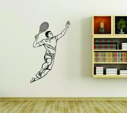 Tennis Player Version 106 Diving Dive Swim Vinyl Wall Decal Sticker - ezwalldecals  - vinyl decal - vinyl sticker - decals - stickers - wall decal - jdm decal - vinyl stickers - vinyl decals - 1