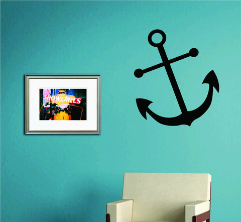 Anchor Version 103 Wall Decal Sticker Family Art Graphic Home Decor - ezwalldecals  - vinyl decal - vinyl sticker - decals - stickers - wall decal - jdm decal - vinyl stickers - vinyl decals - 1