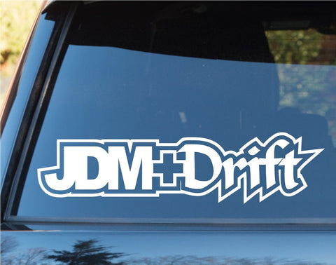 JDM Plus Drift Car Window Windshield Lettering Decal Sticker Decals Stickers ... - ezwalldecals vinyl decal - vinyl sticker - decals - stickers - wall decal - jdm decal - vinyl stickers - vinyl decals - 1
