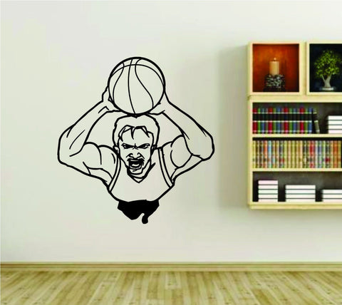 Basketball Player Version 112 Sports Vinyl Wall Decal Sticker - ezwalldecals  - vinyl decal - vinyl sticker - decals - stickers - wall decal - jdm decal - vinyl stickers - vinyl decals - 1