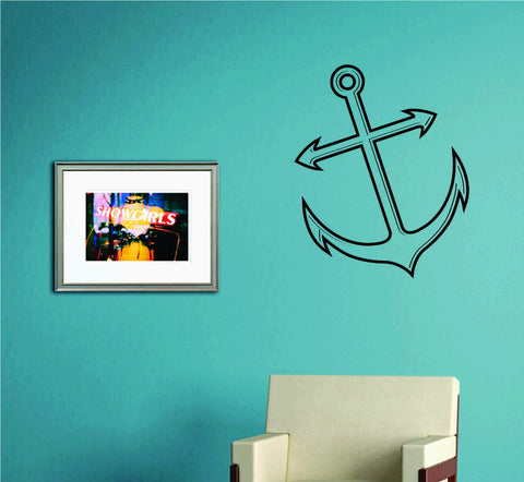 Anchor Version 104 Wall Decal Sticker Family Art Graphic Home Decor Mural - ezwalldecals  - vinyl decal - vinyl sticker - decals - stickers - wall decal - jdm decal - vinyl stickers - vinyl decals - 1