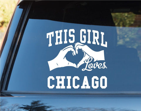 This Girl Loves Chicago Decal Sticker Car Window Truck Laptop - ezwalldecals vinyl decal - vinyl sticker - decals - stickers - wall decal - jdm decal - vinyl stickers - vinyl decals - 1