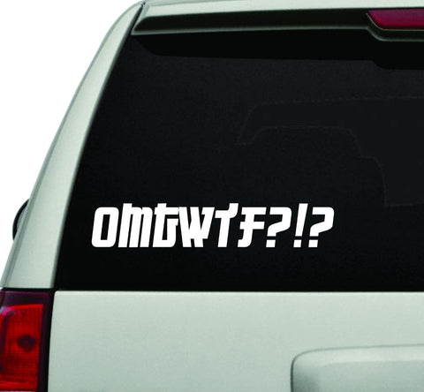 OMTWTF JDM Car Truck Window Windshield Lettering Decal Sticker Decals Sticker... - ezwalldecals vinyl decal - vinyl sticker - decals - stickers - wall decal - jdm decal - vinyl stickers - vinyl decals - 1