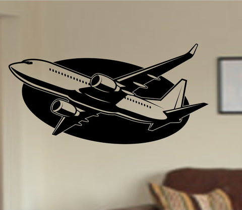 Airplane Version 102 Vinyl Wall Decal Sticker Car Window Truck Decals Stickers - ezwalldecals  - vinyl decal - vinyl sticker - decals - stickers - wall decal - jdm decal - vinyl stickers - vinyl decals - 1
