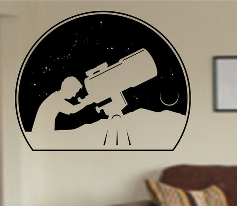 Astronomer Vinyl Wall Decal Sticker Car Window Truck Decals Stickers Quote - ezwalldecals  - vinyl decal - vinyl sticker - decals - stickers - wall decal - jdm decal - vinyl stickers - vinyl decals - 1