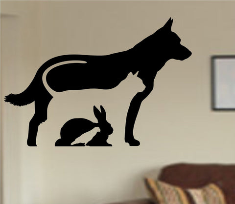 Animal Care Veterinarian Vinyl Wall Decal Sticker Car Window Truck Decals - ezwalldecals vinyl decal - vinyl sticker - decals - stickers - wall decal - jdm decal - vinyl stickers - vinyl decals - 1