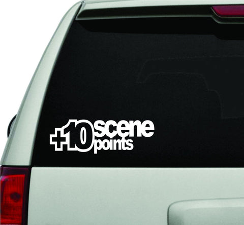 Plus 10 Scene Points JDM Car Truck Window Windshield Lettering Decal Sticker ... - ezwalldecals vinyl decal - vinyl sticker - decals - stickers - wall decal - jdm decal - vinyl stickers - vinyl decals - 1
